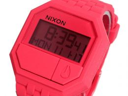 【NIXON】 ニクソン 腕時計 RUBBER RE-RUN CORAL