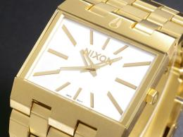 【NIXON】ニクソン 腕時計 TICKET チケット ALL GOLD/WHITE
