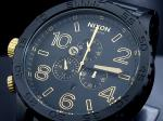 【NIXON】ニクソン 腕時計 51-30 CHRONO MATTE BLACK GOLD